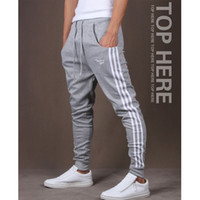 Wholesale mens joggers fashion casual harem sweatpants sport pants trousers male tracksuit track training jogging outdoor DL1976