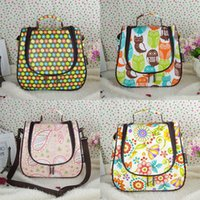 Wholesale Mommy fashion lady diaper bag hobos and tote bags large capacity multi functional out for maternal and infant kits