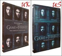 adventure set - Exclusive New Arrival Game of thrones season Six UK US version disc set IN STOCK price dhl