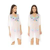 average short sleeve - 2016 Hot Selling Summer Style Women s Casual Loose Chiffon Blouse Average Size Women Embroider Shirts blusa feminina Fashion Casual Blouse