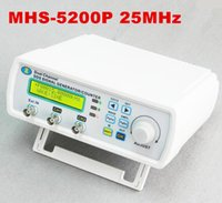Wholesale MHS P MHz power dual channel arbitrary waveform function NC signal generator DDS source off