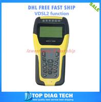 al por mayor probador xdsl-Equipo de prueba de la línea al por mayor a DHL LIBRE VDSL2 probador ADSL WAN LAN Tester xDSL DSL capa física ST332B prueba / metro