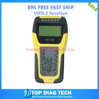 adsl dsl - DHL FREE VDSL2 Tester ADSL WAN amp LAN Tester xDSL Line Test Equipment DSL Physical layer test ST332B METER