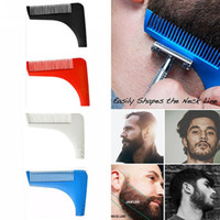 Wholesale Beard Bro Hair Trimmers Hair Care Styling Man Gentleman Beard Trim Template Hair Cut Molding Trim Template Beard Modelling Tools
