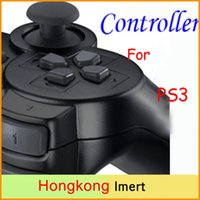 al por mayor shock del joystick-Para PS3 Bluetooth Juego Joysticks controlador inalámbrico Gamepad controlador para PS3 sin paquete Nuevo