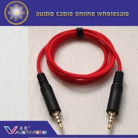 Wholesale trrs mm aux cable cm