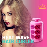 Wholesale High Quality Pro Electric Automatic Hair Curler Large Pods Hair curling stylet DIY Heated Curlers Rollers LCD Iron Display