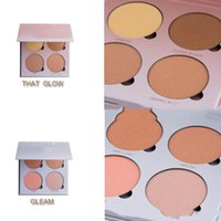 Wholesale NEW glow kit Arrival Beverly Hills Glow Kit Makeup Face Blush Powder Blusher Palette Cosmetic Blushes Brand