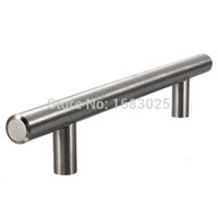 Wholesale 2015 High Quality Top Quality Lighweight Stainless Steel Bar Pulls Cabinet Hardware Drawer Knobs Pulls Hinges cm