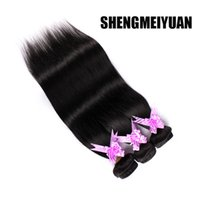 Wholesale Brazilian Hair Human Hair Weave Brazilian Hair Bundles Unprocessed Peruvian Indian Malaysian Cambodian Straight Hair Extensions A