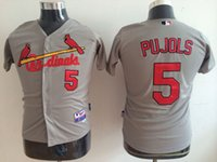 albert mix - Cardinals Cool Base Kids Jerseys Albert Pujols Gray Baseball Jersey Stitched Name And Number Mixed Orders