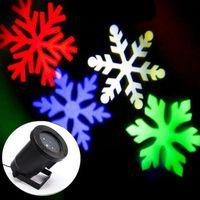 Wholesale Brand New IP66 Outdoor Waterproof LED Laser Light Christmas White Snow Landscape Stage Light V V Stage Laser Projector