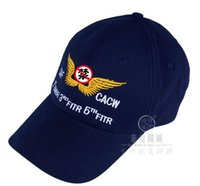 aviation hat - 2016 Fashion war China US Joint Aviation team Memorial hat
