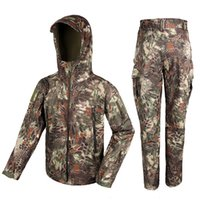 bdu fabric - New Arrival D Waterproof Stretch Fabric Outerlining Tactical Military Outdoor BDU Set For Hunting Sports CL34
