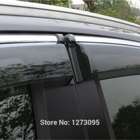 awning style - 2014 Toyota RAV4 Window Visor Vent Shades Sun Rain Deflector Guard Awnings Auto Styling Car Exterior Accessories set