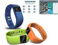 Wholesale FITBIT TW64 Smart Sport Bracelet Bluetooth Fitness Activity Smart Wristbands Waterproof Passometer Sleep Tracker Function colors
