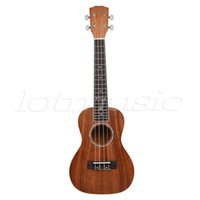 abalone guitar rosette - Mahogany Baritone Ukulele Hawaii Guitar inch Abalone Soundhole Rosette Matt