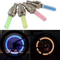 bycicle - 100Pcs Set Bicycle Light Bicycle Wheel Tire Valve s Bicycle Accessories Cycling Led Bycicle Accessories Light