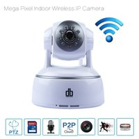 Wholesale DBPOWER IP Cameras WIFI Baby Monitors Indoor Wireless Cam H P HD Wireless Security Camera Two Way Intercom IR CUT ONVIF