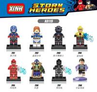 Wholesale 480pcs X0119 Super Heroes Marvel X Men Apocalypse Minifigures Magneto Rogue Mystique blocks baby toys compatible