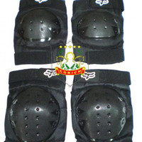 Wholesale Kit Elbow Knee Shin Armor Protector Guard Pads For Horse Riding Racing