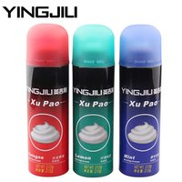 Wholesale YINGJILI GC Shaving Foam Gel g For Men Razor Blades Personal Face Skin Care Supplies Lemon Mint Gulong Scent