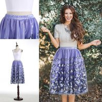 Wholesale Chinese Wear For Women - Short Knee Length Real Picture Skirts 2016 Cheap Chinese Puffy Custom Made Skirts for Women Fashionable Wear Petticoats