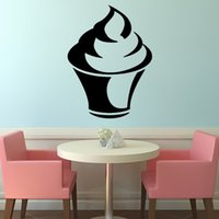 animal cupcake designs - Plain Cupcake Wall Sticker Home Decor Living Room Hollow Out Design Waterproof Vinyl Wall Decal Adhesive