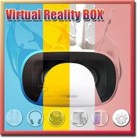 Wholesale Professional Baofeng strom Brand VR BOX Virtual Reality D Glasses small D forIOS Android with Bluetooth Controller