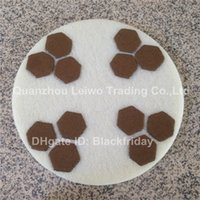 abrasive sponge pads - Diamond Sponge Polishing Pads inch Abrasive Fiber Concrete Marble Sanding Abrasive Disc Polishing Wheel Pieces Per Set Grit to