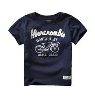 Wholesale Dindim Kids New Arrive Autumn Spring Style Short Sleeve School Boys Clothes Kids Children T Shirts Tops Boy Clothes