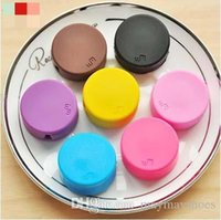 Wholesale Korean Fashion Candy Color Winder device Function Dual purpose Mobile Phone Line earphones cable winder