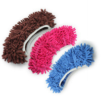 Wholesale pc Dust Mop Slipper Lazy Quick House Floor Polishing Cleaning Easy Foot Sock Shoe