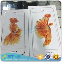 Wholesale for iphone s Cell Phone Boxes package box Retail Boxes with accessories for iPhone s s plus full accessories for iPhone box