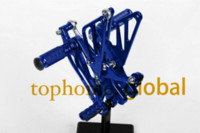 Wholesale Motorcycle Blue CNC Rearsets Foot Pegs Rear Set For Yamaha YZF R1 motorcycle foot pegs