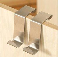 Wholesale New set For Kitchen Hanging Hanger Holder Door Hooks Hanging Coat Cloth Strong