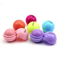 Wholesale Ball Lip Balm Lipstick Lip Protector Sweet Taste Embellish Lip Ball Makeup Lipstick Gloss Cosmetic Accessories WB0218