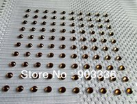 adhesive jewels - 4mm crystal stickers sheet jewelry crystal sticker jewel self adhesive single rhinestone sticker