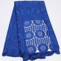 Wholesale New design african guipure lace fabric high quality cord lace material for women dress AMY149B