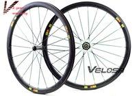 Wholesale Outlet C0SMIC Full carbon bike wheelset mm clincher tubular C road bike carbon wheel