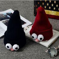 Wholesale Children crochet handmade hat kids knitted hat cartoon color Children s Caps