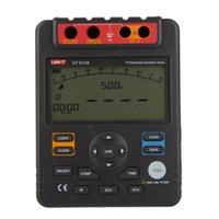 Wholesale UNI T Digital Insulation Resistance Tester Megohmmeter Voltmeter V w USB Interface Earth Ground Meter UT513A