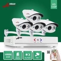 ANRAN Day Night HDMI 1080N 4CH AHD DVR 1800TVL 720P Outdoor Array IR Caméra Système de vidéosurveillance