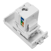Wholesale Building Materials Wall Plate Network Module Panel Shuttered Connector For RJ45 Hot Sale Excellent Quality