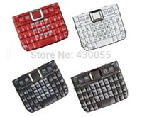 Wholesale White Black Red Grey New Housing Home Function Main Keypads Keyboards Buttons Cover For Nokia E71