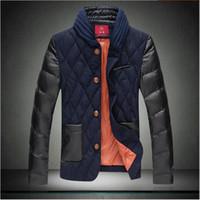 Wholesale Fall jacket coat man new Winter Men s raglan sleeve jacket fashion design sleeve jacket coat
