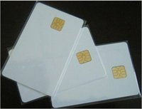 access contacts - 12500 PVC ISO7816 SLE4428 Chip Contact Smart IC Card For Access Control With