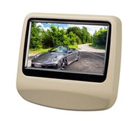 Wholesale 9 inch Capacitive Touch Screen Headrest Monitor Car DVD Pillow Headrest Monitor support USB SD DVD Player IR FM car styling
