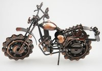 antique toy robots - China Motorcycle model ornaments Antique metal crafts Creative gifts Bronze color Long cm wide cm high cm