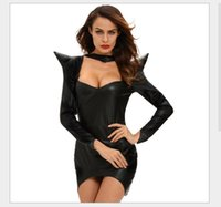 Wholesale Halloween Witch cosplay sex Tight cloth for Adult Mini Skirt stage cloth Dress